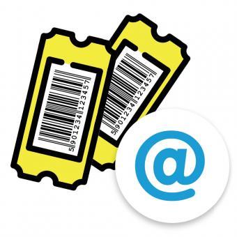 2 TAGES-TICKET (1 Ticket für den 22.05.2021 und 1 Ticket für den  23.05.2021 (per eMail)